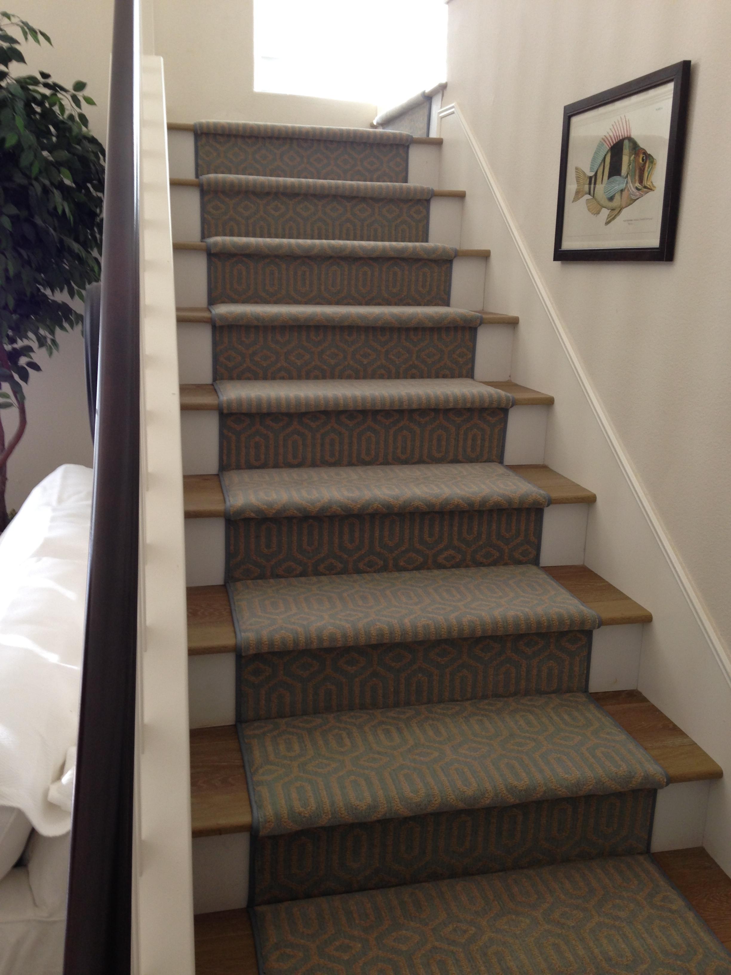 Stanton Atelier Miro Ocean Stair Runner Hemphill S Rugs
